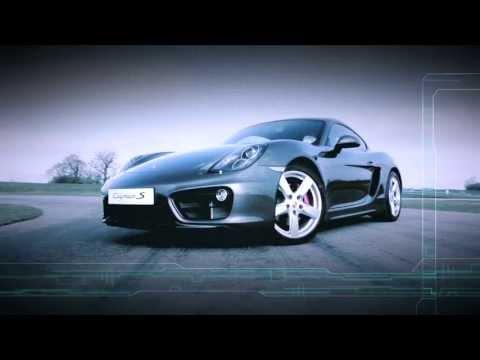Новый Porsche Cayman - Испытание силы балланса