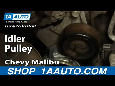How To Install Replace Idler Pulley Chevy Malibu 97-03 1AAuto.com