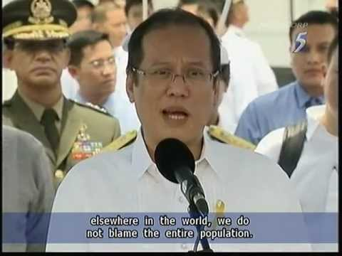 Philippine president Aquino ruled out apology to relatives of HK bus hostage victims - 23Aug2011