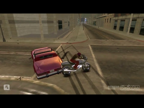 Loquendo GTA 4 San Andreas - CJ esta en rage engine