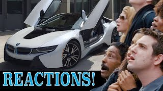 How people REACT to a BMW i8!