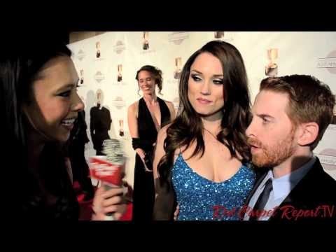 Seth Green & Clare Grant at the 40th Annual Annie Awards #AnnieAwards @SethGreen @ClareGrant