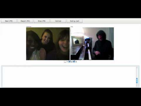 Chat Roulette Funny Piano Improv #3