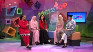 MeleTOP Throwback Raya - Temu Bual Bersama Erra Fazira, Ziana Zain & Awie [05.08.2014] - Musik76