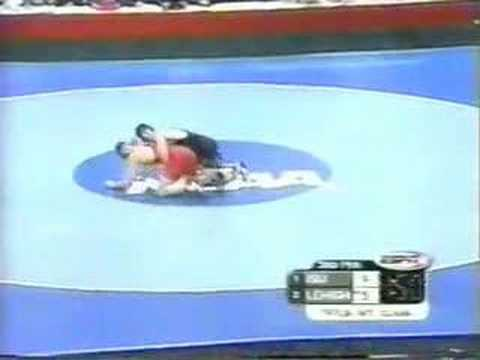2002 NCAA: Cael Sanderson (Iowa St) vs Jon Trenge (Leh) Pt 2
