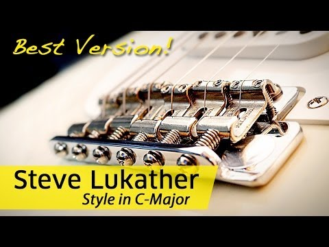 ★★★ BEST Guitar Backing Track Steve Lukather Style in C | JAMTRACK.de ★★★ #1