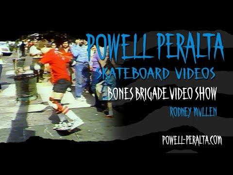 BONES BRIGADE VIDEO SHOW CH. 5 RODNEY MULLEN