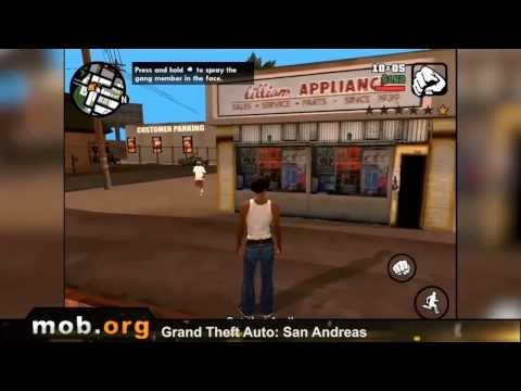 GTA San Andreas Android Review - mob.org