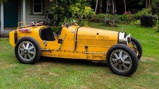 1927 Bugatti 35B Grand Prix Racing Car Drive