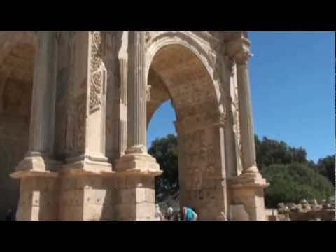 Travel Guide to Libya: Leptis Magna Perfa Tripolitanii