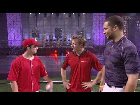 Wicked Wiffle segment from Sport Science episode 209. On the set of Sport Science, Wiffle Ball Cy Young Winner Joel Deroche attempts to strikeout MLB star Ja...
