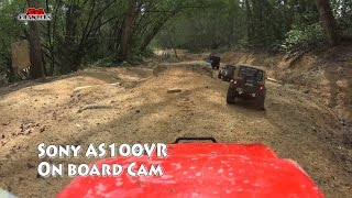Onboard cam Scale Trucks Offroad Adventures RC Toyota Hilux Land Rover Defender Jeep Wrangler