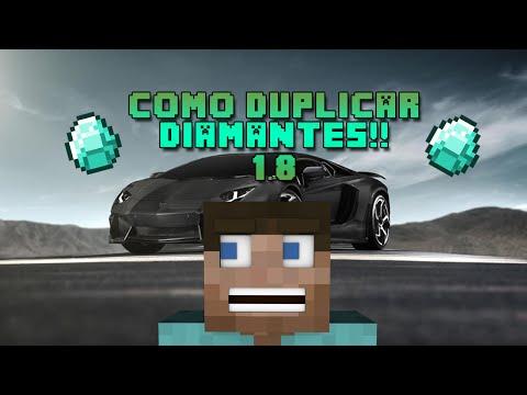 TRUCO MINECRAFT 1.8 | CLONAR DIAMANTES Y DE TODO