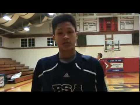 Post Game Interview with Bishop Seabury Academy Avery Rouser