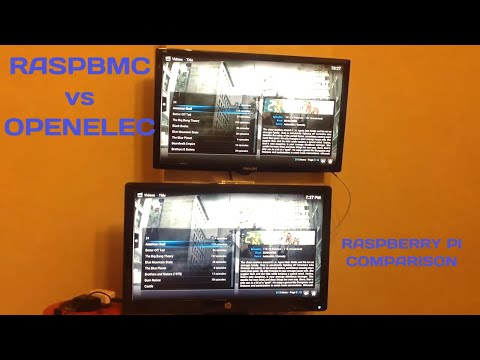 Raspberry Pi: Openelec Vs Raspbmc