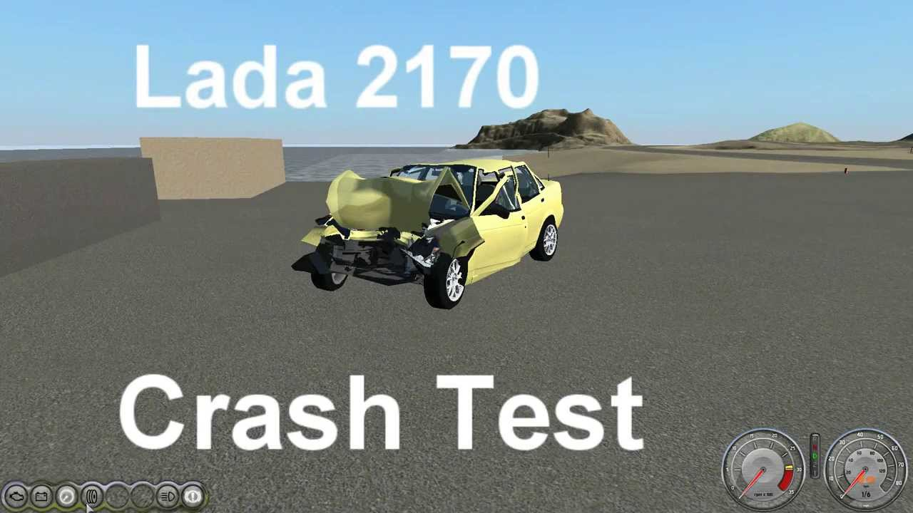 Lada Priora Crash Test 2170 Priora Crash Test