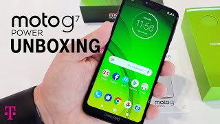 Motorola moto g7 POWER Unboxing with Des | T-Mobile