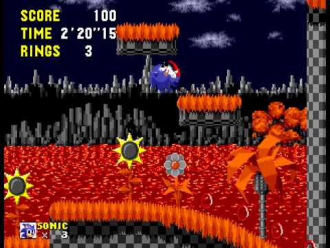 An Ordinary Sonic ROM Hack (beta) - Vizzed.com Play - User video