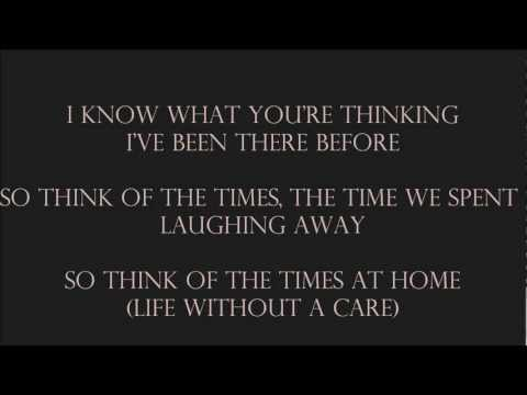 Avenged Sevenfold - Danger Line (lyrics)