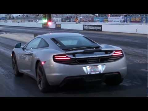 McLaren MP4-12C | Drag Racing | Modified Tuner Shootout 2012 | Firebir