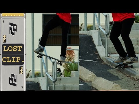 Lost & Found Skateboarding Clip #161 Brandon Villanueva