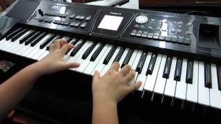 Piano Cô Bé Mùa Đông - Trúc Thy  lớp 3c