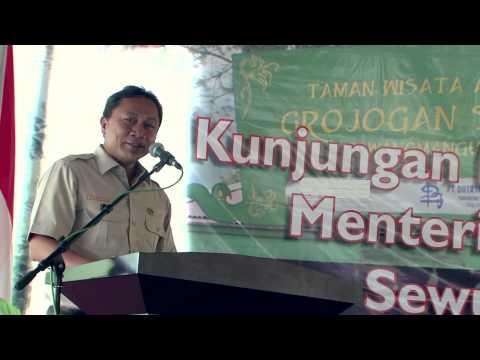 Kader Konservasi Pendukung Konservasi Alam, TWA Grojogan Sewu Surakarta 7 April 2014 7 April 2014