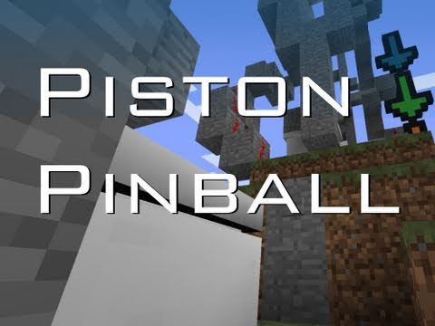 Minecraft – Piston Pinball [FULL VERSION!] 10th Video! – 2MineCraft.com