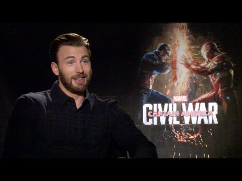 CAPTAIN AMERICA: CIVIL WAR uncensored interviews - Evans, Stan, Mackie, Boseman, Russo, Bettany