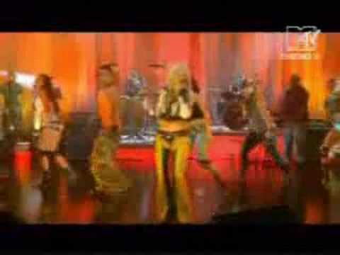 Christina Aguilera Get Mine Get Yours Live