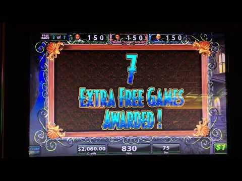 Mega WIN on Black Widow Bonus Round with retrigger HUGE JACKPOT!!!