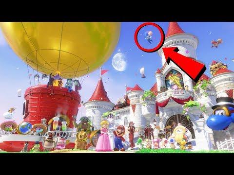 Super Mario Odyssey - All Endings + New 100% Ending