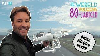 DRONE LES GEVEN | De Wereld Volgens 80 jarigen | VLOG #2
