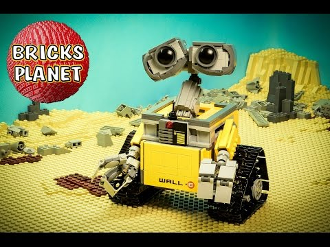 WALL•E 21303 LEGO Ideas - Stop Motion Review