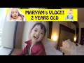 MARYAM (2 years old) BAJAK VLOG RICIS :( VLOG 10