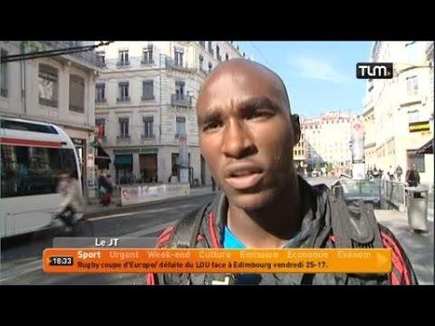 Il court plus vite que le métro! (Lyon)