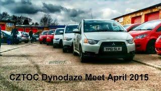 Cztoc Mitsubishi Colt CZT & Ralliart Owners Club Meet Dynodaze April 2015