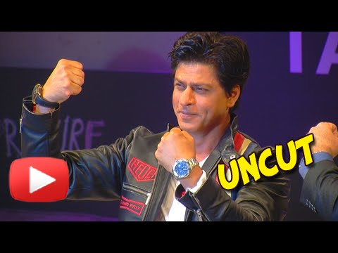 UNCUT Brand Ambassador Shahrukh Khan Launches New collection of Tag Heuer Watches