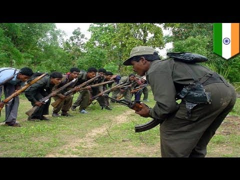 20 officers killed by Maoist rebels in central India