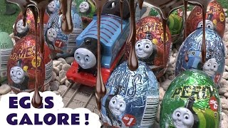 20 Surprise Eggs Thomas and Friends Kinder Surprise Toys Superhero Thomas The Tank Engine Eggs