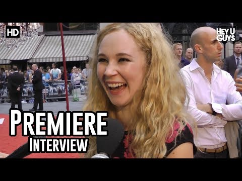Juno Temple Interview - Anna Karenina UK Premiere
