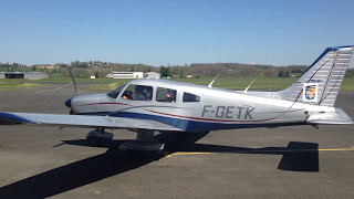 Premier vol BIA 10 avril 2017 Piper Archer II – PA 28