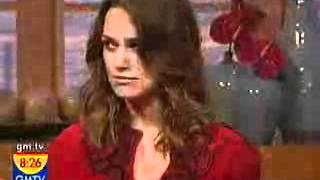 Keira Knightley interview for Atonement (2007, UK Breakfast TV)