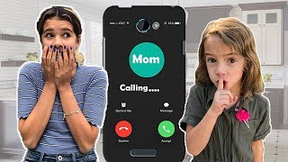 LAST to CALL MOM!  no mom for 24 hours +