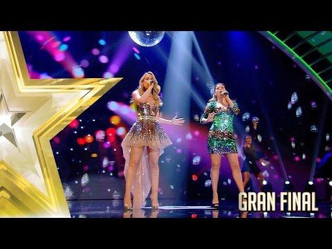 ¡Edurne y Cristina Ramos cantan a dúo en la Gran Final! | Gran Final | Got Talent España 2017
