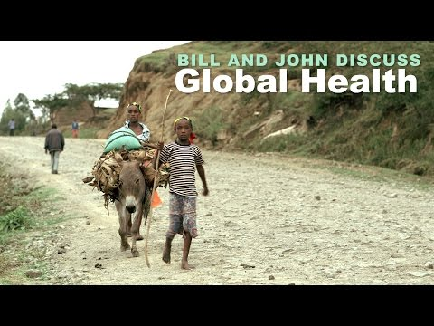 Bill Gates and John Green Discuss Global Health