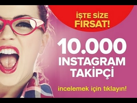 İnstagram 10.000 Takipçi Hilesi - YouTube