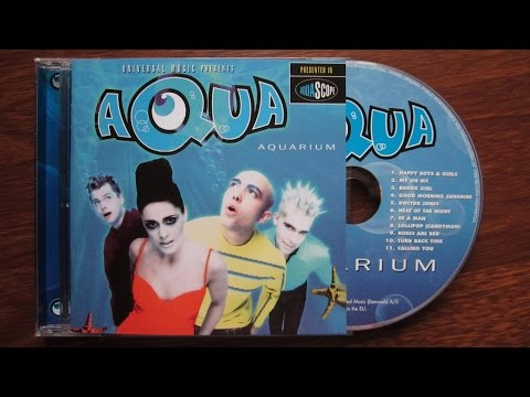 Aqua - Aquarium / unboxing cd /