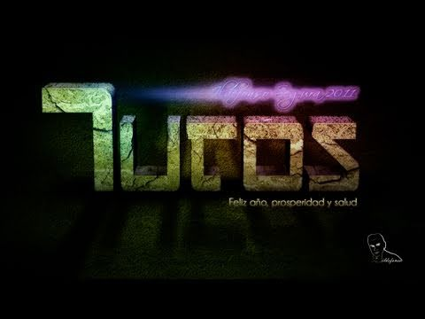 PHOTOSHOP: TEXTO DE PIEDRA 3D - Tutorial