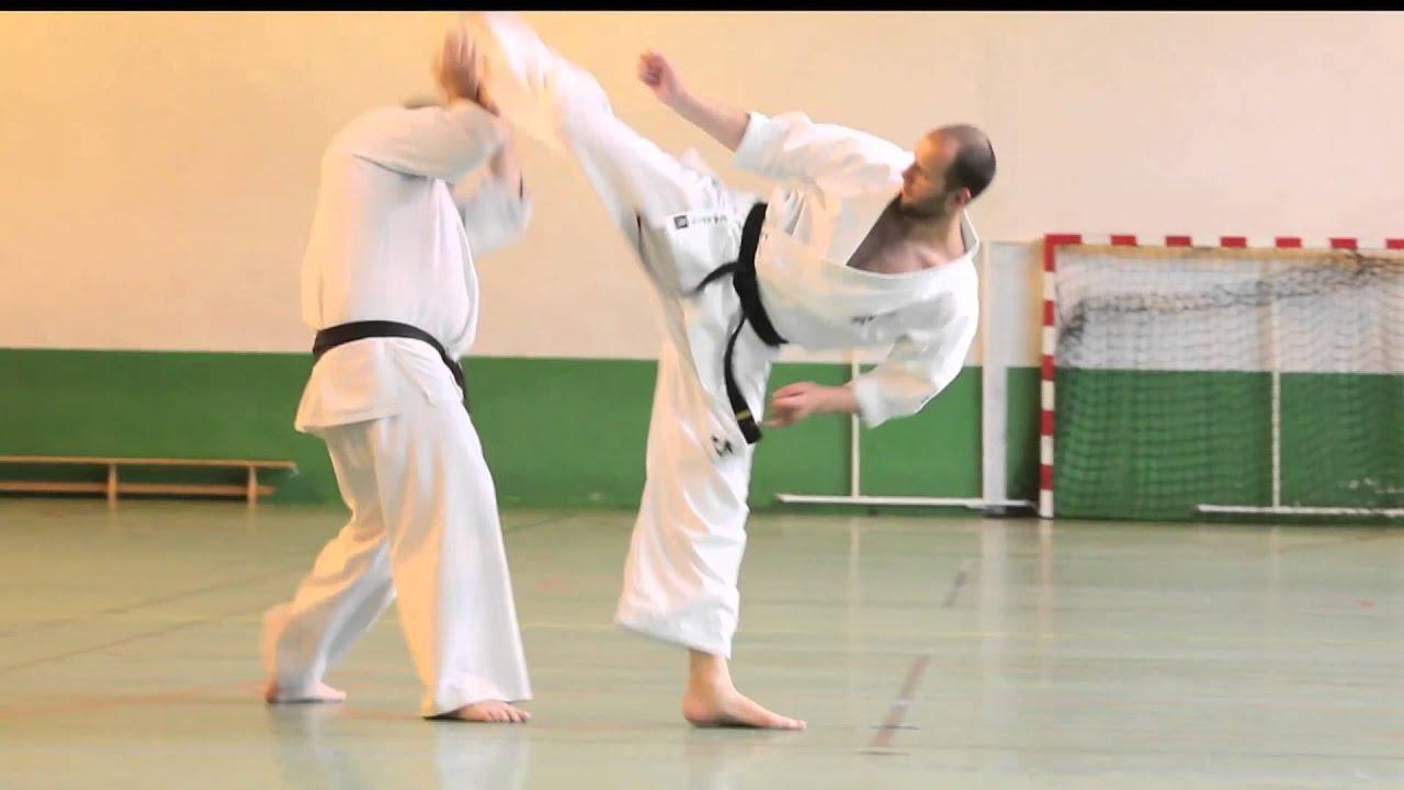 karate kyokushinkai   enchainements de combat par